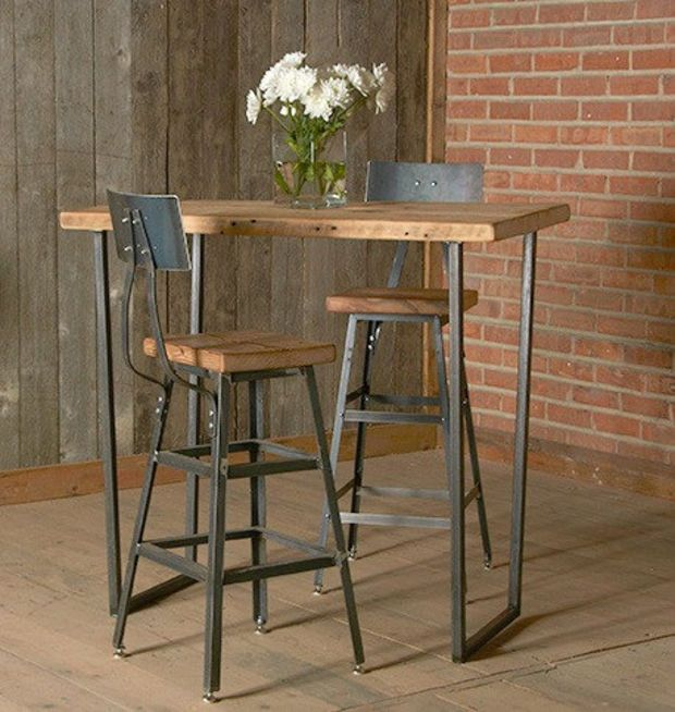 Best 25 Bar height table ideas on Pinterest Bar tables  : ab746561df9543860c59eecc221d8842 counter stools with backs counter height bar stools from www.pinterest.com size 620 x 654 jpeg 71kB