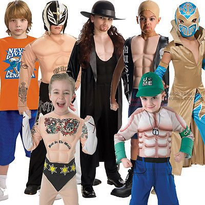 Childs wwe #muscle chest deluxe wrestling fancy dress kids #wrestler wwf #costume,  View more on the LINK: http://www.zeppy.io/product/gb/2/351070062595/