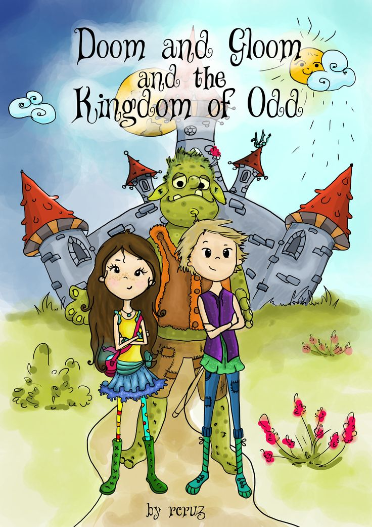 an amazing kids book worth reading if the author will finally have the courage to publish it :D