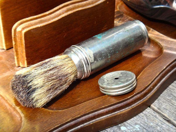 Man Gift, Shaving Brush, Shaving Tool, Grooming, Retractable Brush, Man Cave, Man Grooming, Badger Brush, Barbershop Tool, Maxs Uniquities by MaxsUniquities on Etsy