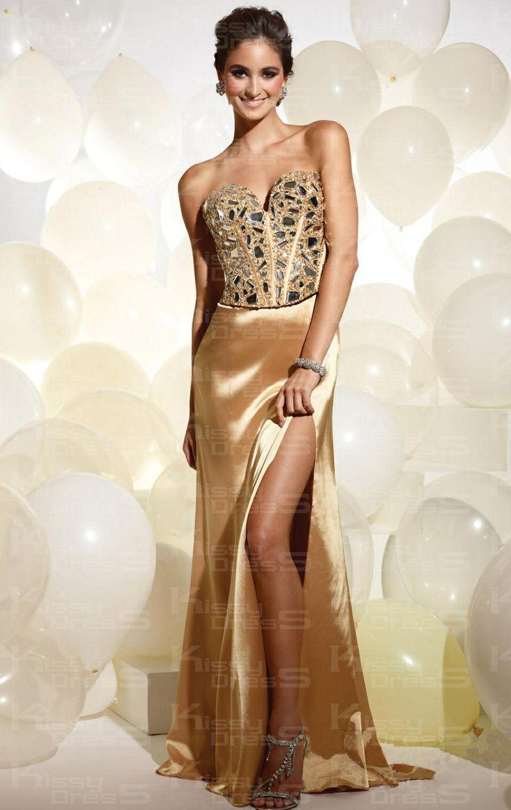 11 best Gold prom dress images on Pinterest | Abendkleider ...