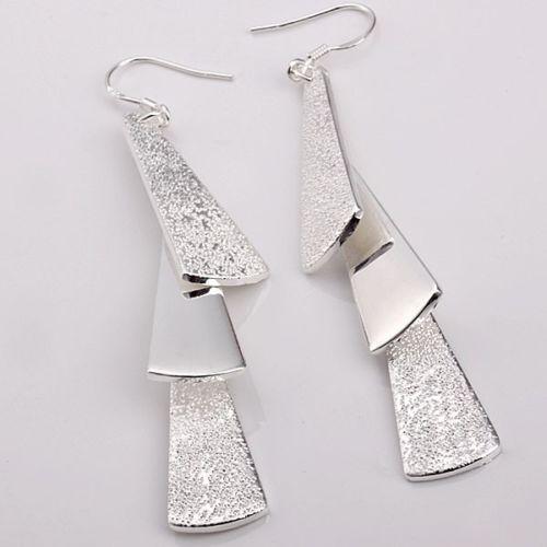 EAR016CN Silver Ladies Fine Earrings