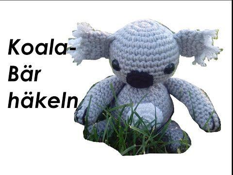 Koala Bär Kuscheltier Häkelanleitung von *carolineswelt*, My Crafts and DIY Projects