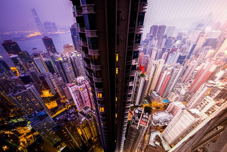 These Gorgeous Sunrises and Sunsets Are Made From Slices of Time | Hong Kong: 150 photos. 56 minutes. | Credit: Dan Marker-Moore | From Wired.com