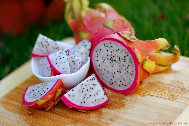 Dragon fruit.: Dragon Fruit, Color, Exotic Fruit, Food, Fruits, Healthy, Dragonfruit