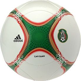 adidas 2013 Capitano Mexico Soccer Ball #giftofsport
