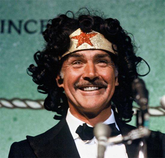 Sean Connery as Wonder Woman