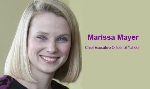 Marissa Mayer ~ Wanita Sukses Sang CEO Yahoo!