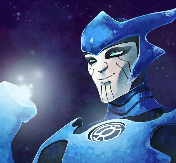 Blue lantern corps razer - photo#21