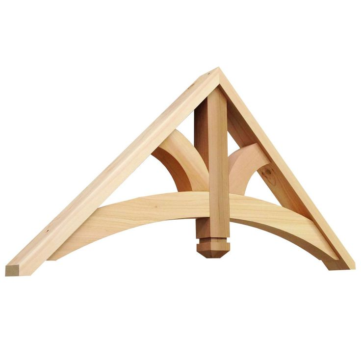 Gary/Amy--Consider this decorative truss for gables.