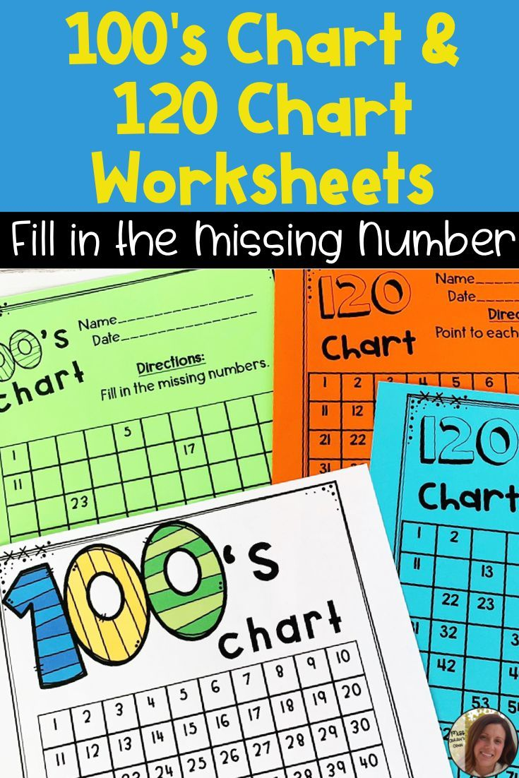 100 S Chart Worksheets Fill In The Missing Number 120 Chart Worksheets Teacher Activities Number chart worksheets question