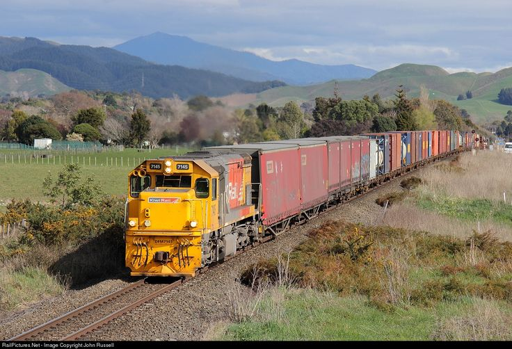 RailPictures.Net Photo: 7145 KiwiRail EMD GT22MC DFM at Near Levin, New Zealand by John Russell