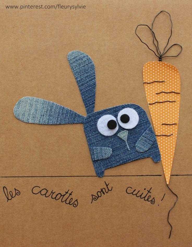Les carottes sont cuites !! Recyclage des pantalons #jeans #recycle https://pinterest.com/fleurysylvie/mes-creas-la-collec/ et www.toutpetitrien.ch