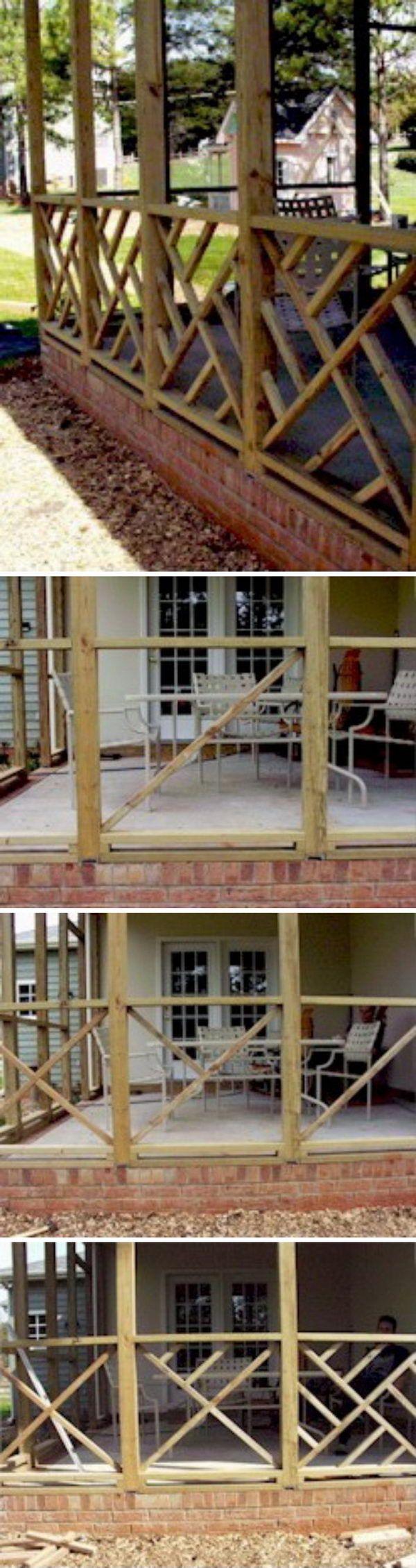 20 Diy Gelanderideen Deck Railings Diy Deck Deck Railing Design