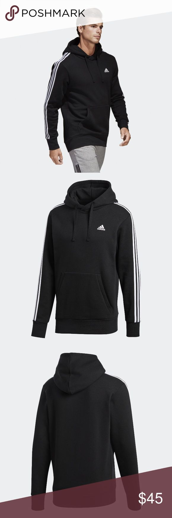 NWT S Men's Adidas Hoodie Fits women's s/m oversized. Brand new with tags. Still in packaging no flaws adidas Sweaters