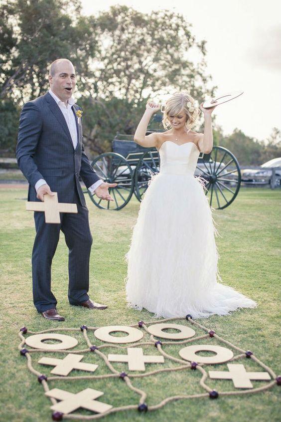 Jeux pour mariage