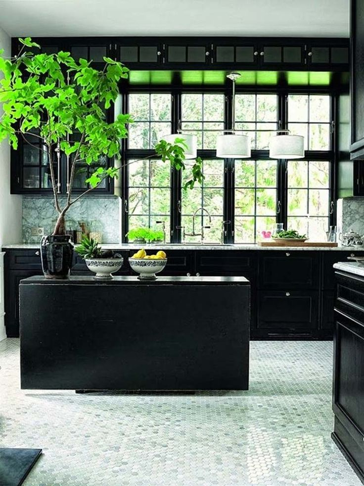 43 Dramatic Black Kitchens That Make A Bold Statement Part 46
