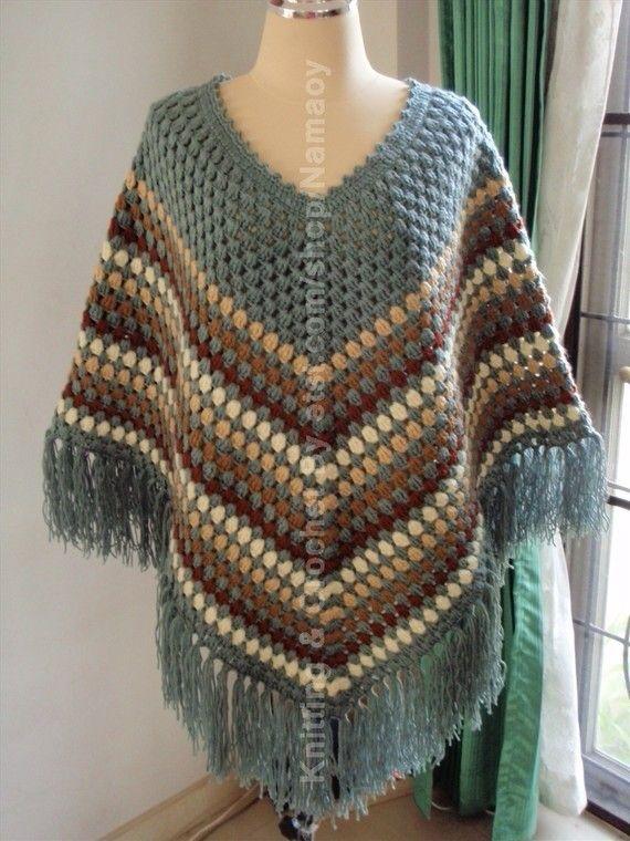Pin De Fareeba En Knitting Crochet Poncho Crochet Y