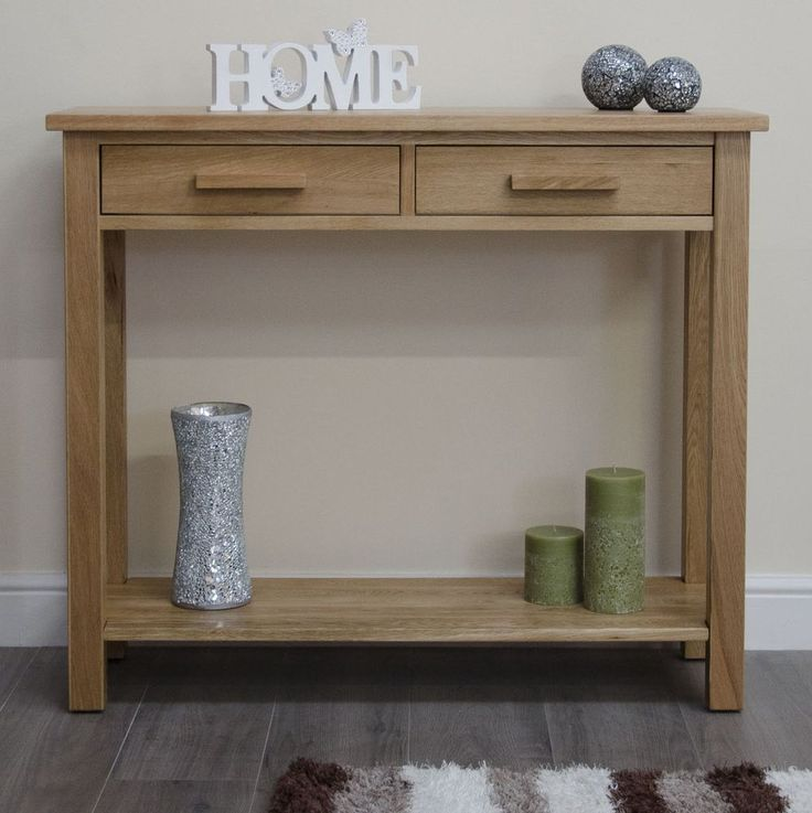 Slimline Hall Console Tables