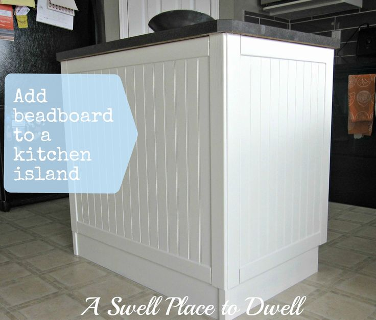 kitchen island cabinets adding beadboard to cabinet doors how add your