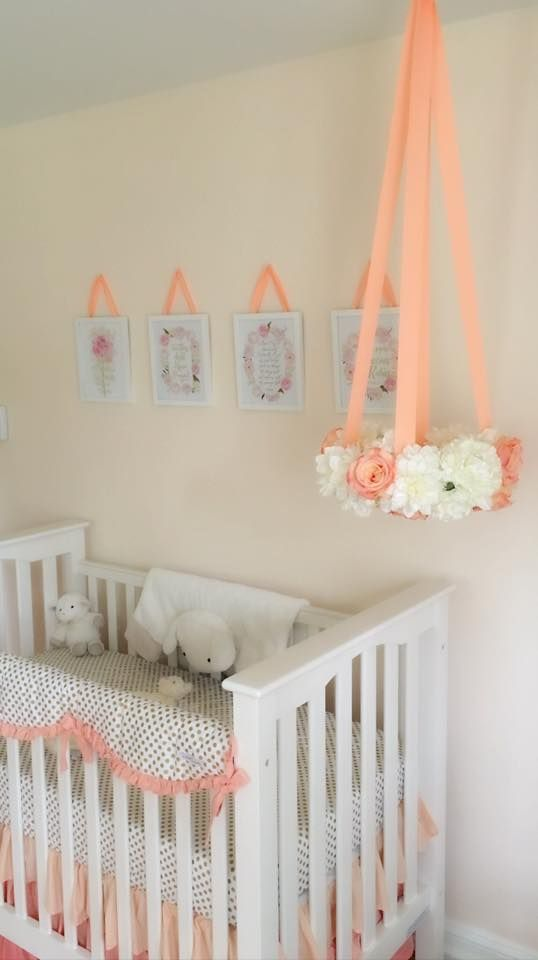25 Best Ideas About Peach Nursery On Pinterest Girl