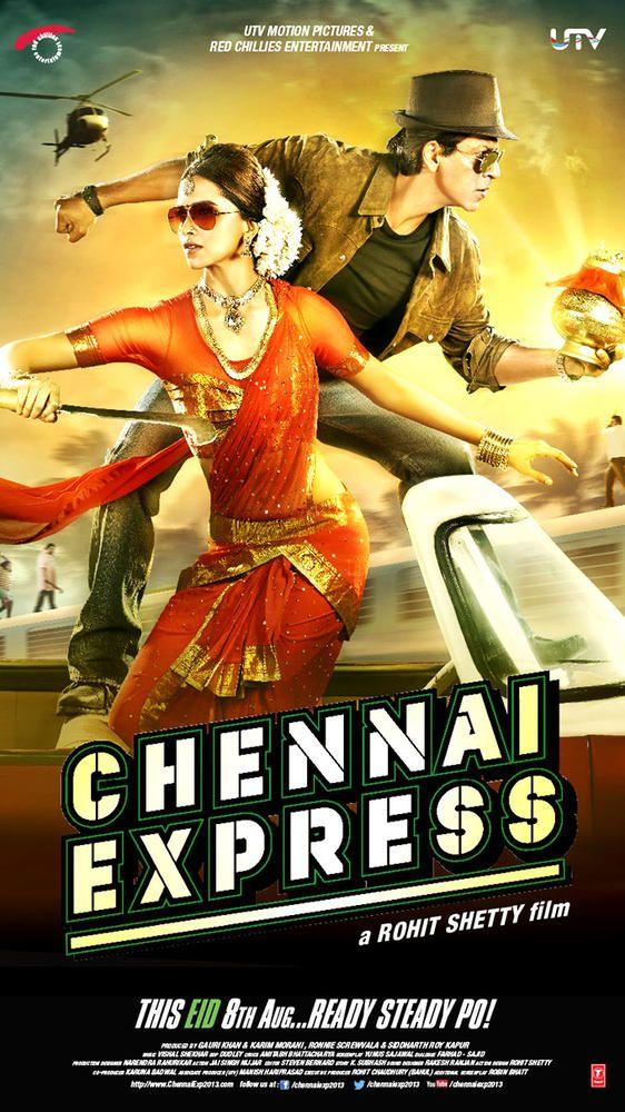 'Chennai Express' poster 2 #Bollywood