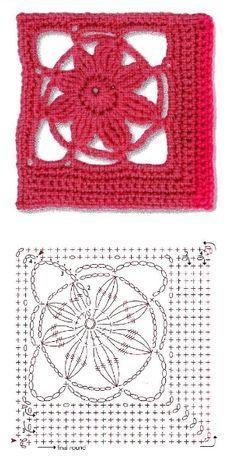 Mis Pasatiempos Amo el Crochet: 1000 Patrones de cuadrados de la abuela
