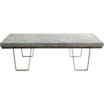 zinc topped coffee table - Google Search