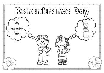 A free colouring in page for Remembrance Day, Enjoy!
