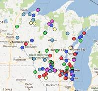 100 things to do in Wisconsin this summer; a lot of them we can already cross off!!