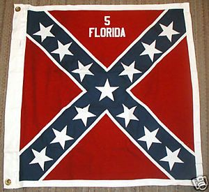 civil war florida pictures   COTTON-Civil-War-Flag-Confederate-Flag-5th-Florida
