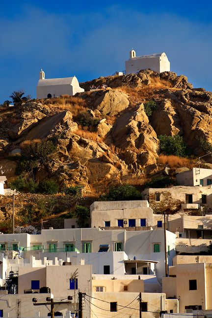 This is my Greece   The Hill city of Chora, on Ios island, Cyclades