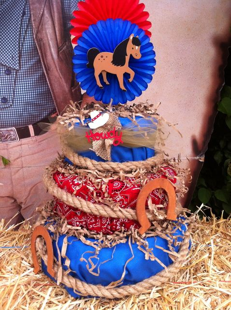 Decorations at a Cowboy Party #cowboy #party
