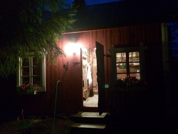 Finnish sauna... this is true vintage, build in 1937.
