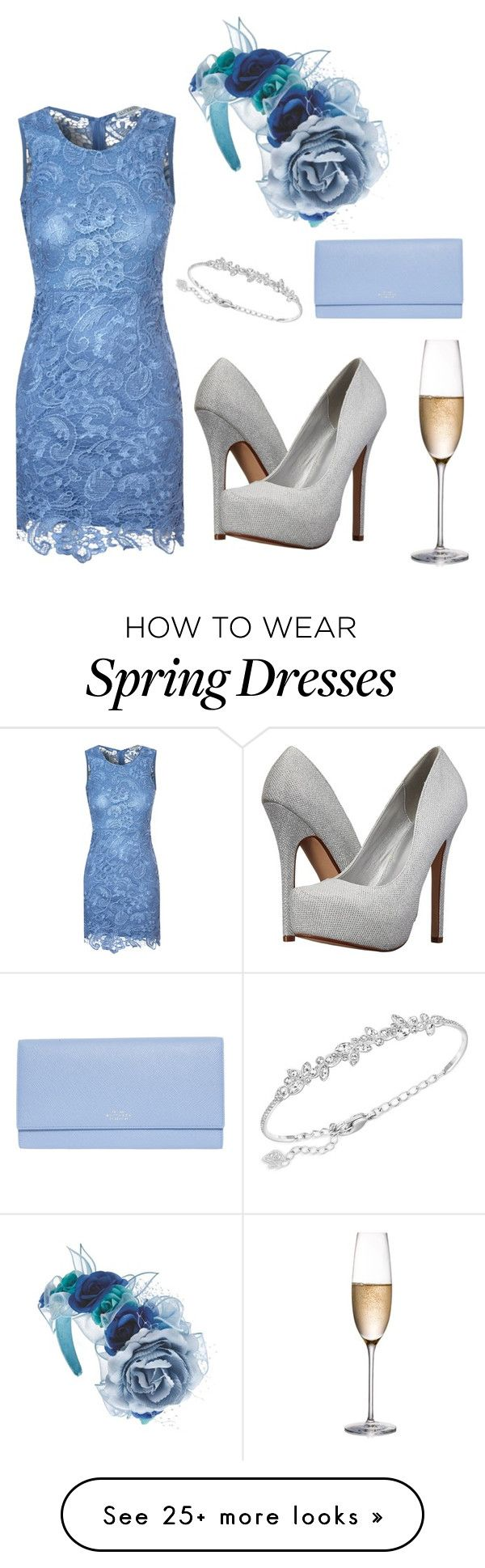 """""""Melbourne Cup"""" by lbfashion36 on Polyvore featuring Alice & You, Call it SPRING, Swarovski, Rogaska and Smythson"""