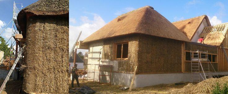 Crèche Les Farfadet à Saint Romain (76) - Crêche bioclimatique en - maison bois et paille