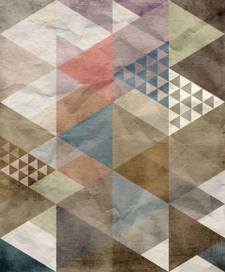 Quadrangle | R12522 | Wall murals - Wallpaper | Rebel Walls