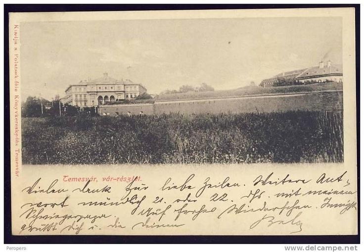 Timisoara - Opera in spatele bastionului - 1909