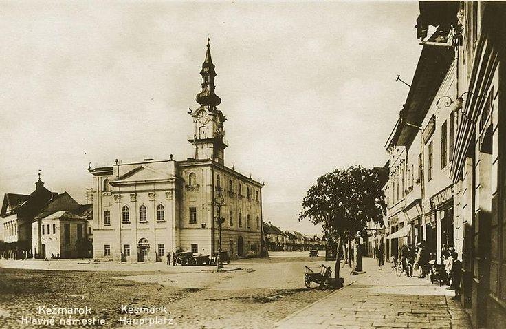 Soubor: Starý Kežmarok - Radnica námestie.jpeg