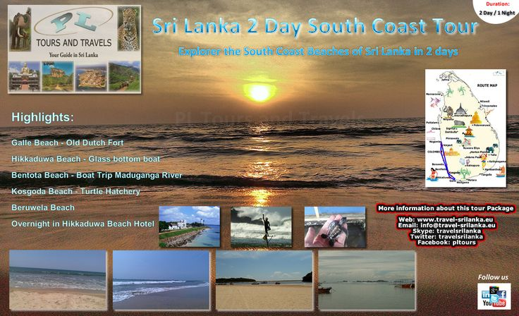 Sri Lanka South Coast Tour