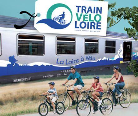 Train Vélo Loire - Accès à l'itinéraire - Infos pratiques - Loire à Vélo