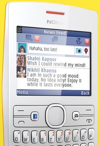 Facebook Phone? Non proprio, è il Nokia ASHA 205!