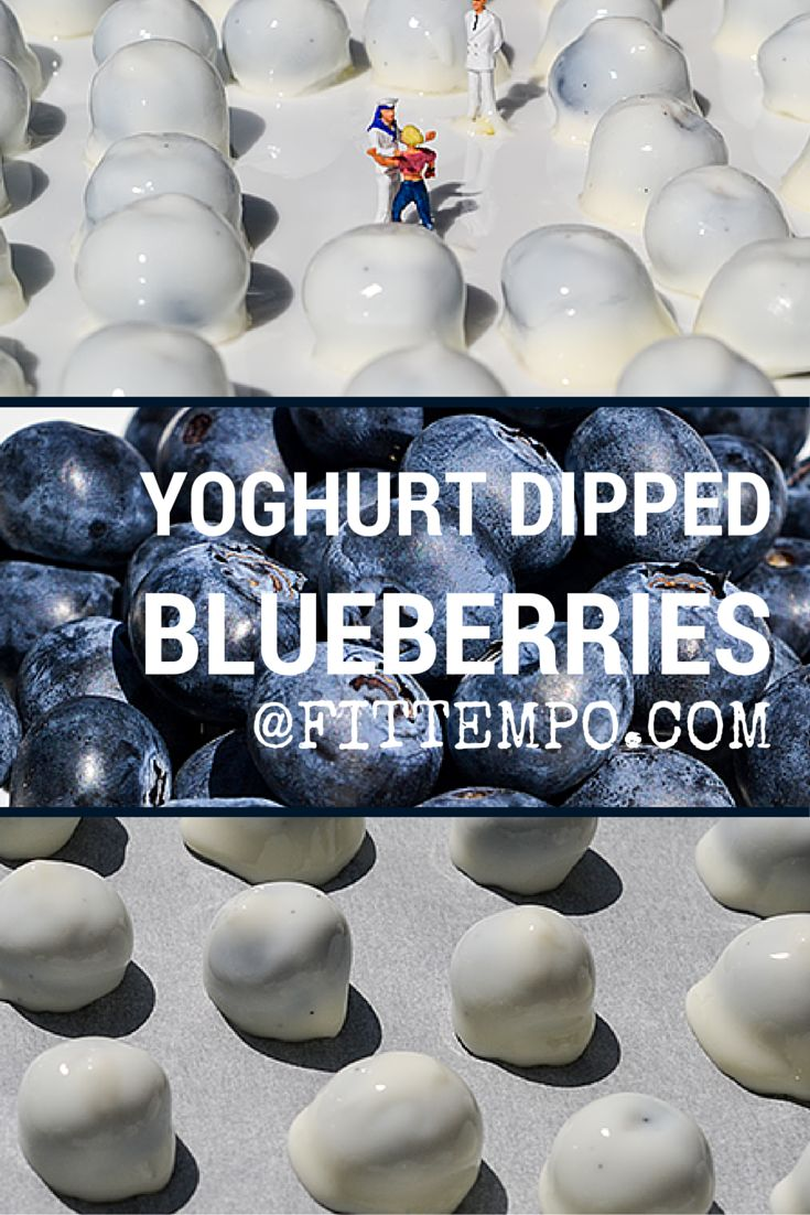 This recipe is so simple, only two ingredients are needed and you're on your way to making an awesome healthy treat, I just love snacking on these yoghurt dipped blueberries throughout the day or a great idea to add them to your daily smoothie keeping your drink nice and cool and bursting with flavour.
