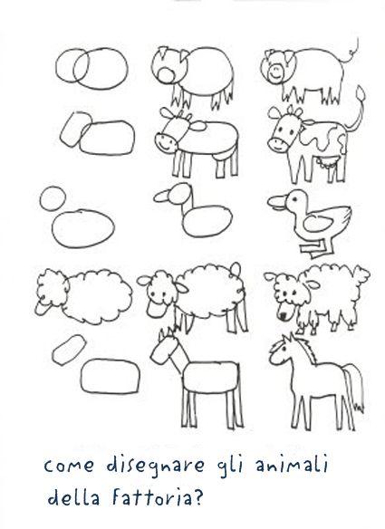 Laboratori per Bambini: DISEGNO: come insegnare a osservare e... DISEGNARE ANIMALI!