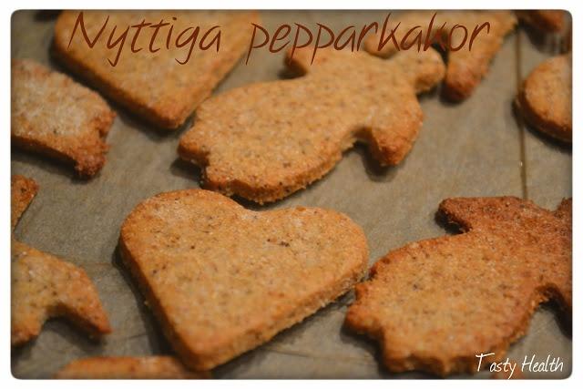 Svensk recept - Nyttiga Pepparkakor