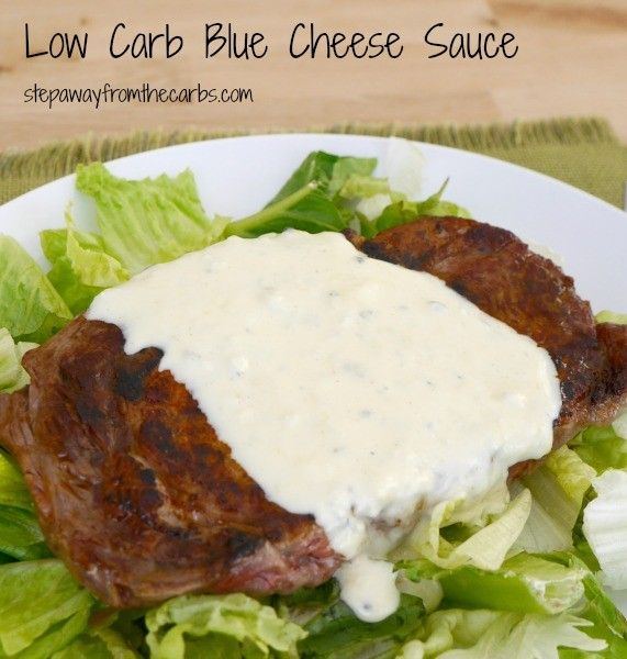 Low Carb Blue Cheese Sauce Easy Two Ingredient Recipe