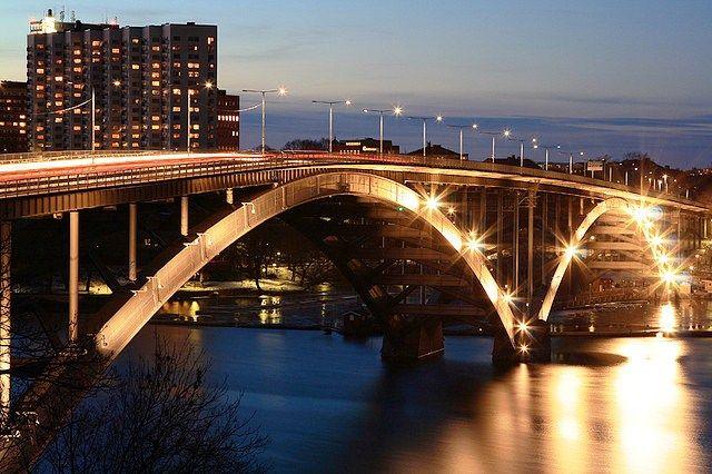 Puente Västerbron, Estocolmo (Suecia)