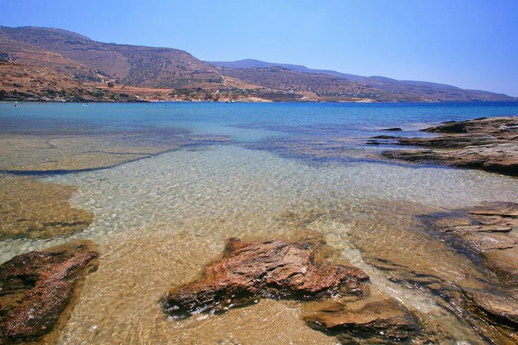 Visit the beach of Koundouros in Tzia a truly beautiful island just over one hour away from Athens.