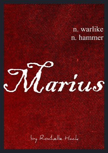 Name: Marius. Meaning: Warlike; Hammer. Origin: French; Dutch; Romanian. http://www.pinterest.com/vintagedaydream/baby-names/