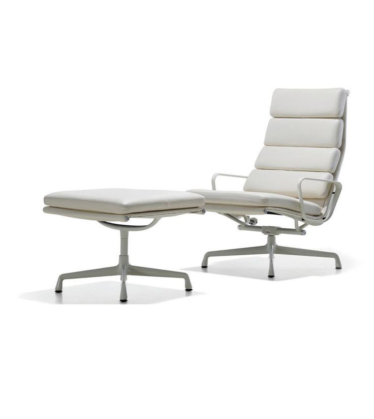 Creating a relaxed and modern office space - Replica designer chair in white leather. Wholesale inquires @howimports